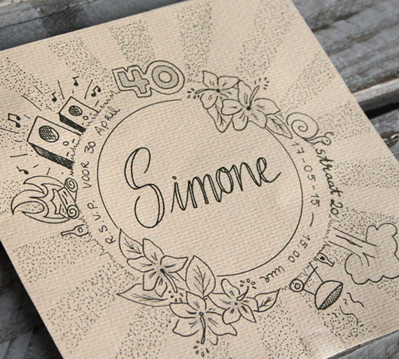 Uitnodiging – Simone